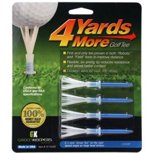 4 Yards More Golf Tees