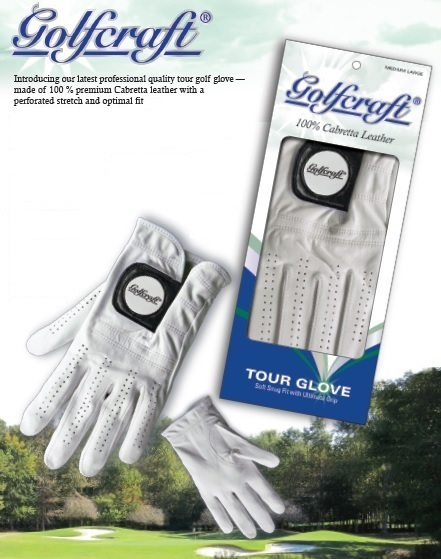 Golfcraft Cabretta Tour Gloves