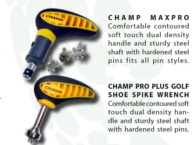 Champ Pro Plus And Pro Max Golf Shoe Spike Tools