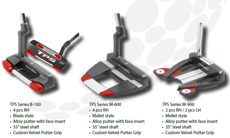 TPS X-Type Putter Pack