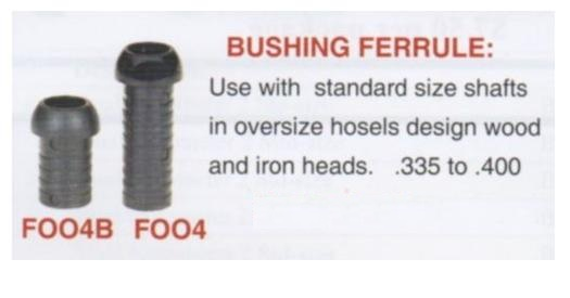 .400 To .335 Bushing Ferrule