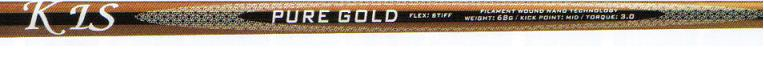Pure Gold Graphite Golf Shafts